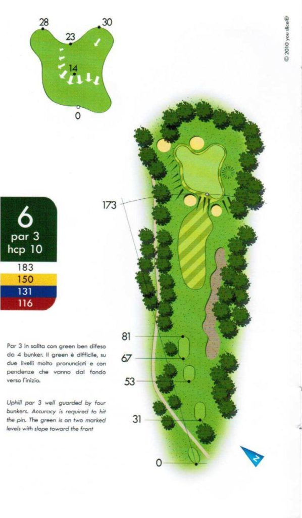 Is Arenas hole 6