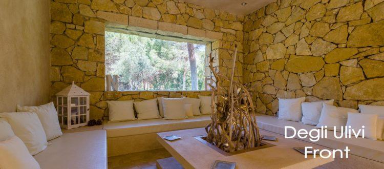 Foresteria degli Ulivi, front patio