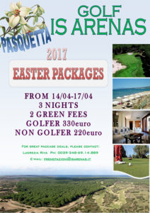 2017 Easter packages.
