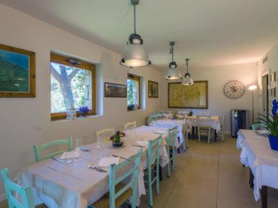Il ristorante: interno.