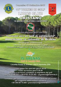 11° Torneo di Golf Lions Club Oristano