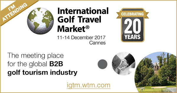 Is Arenas Golf & Country Club attend to the International Golf Travel Market 2017