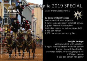 Sartiglia 2019 Special